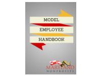 Model Employee Handbook Cover
