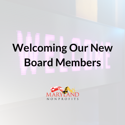 Welcoming Our New Board Members