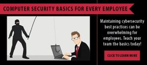 Computer security basics for everyone